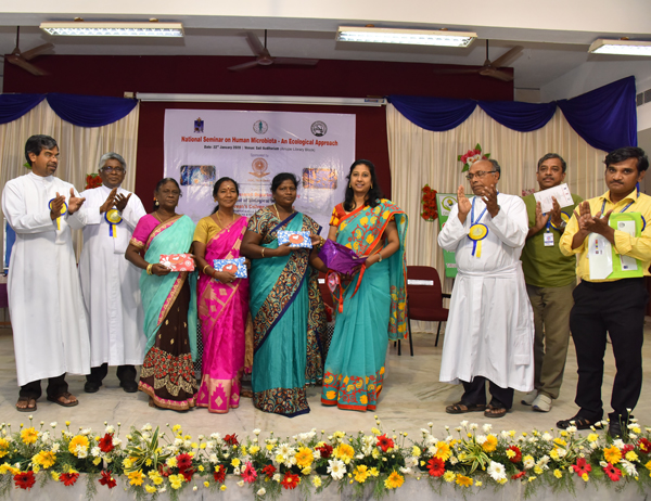 Dept. of Botany organized one day National seminar on `Human Microbiota- An ecological approach`