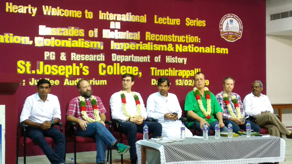 Department of History organised a one day International Lecture Series on Cascades of Historical Reconstruction: Migration, Colonialism, Imperialism and Nationalism