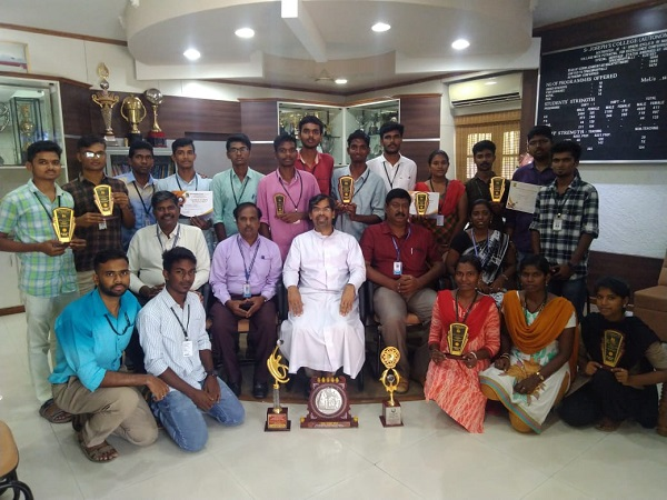 The students of the Department of Economics have won the Overall Trophies in the various competitions