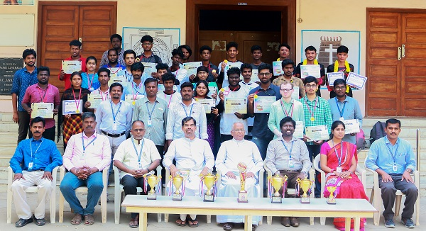 The Department of Computer Science - Shift II has won Four Overall Championship Trophy in the State Level Technical Symposium